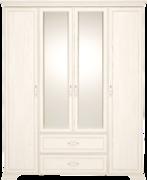 Шкаф для одежды 4-х дверный с зеркалом Венеция 2 бодега