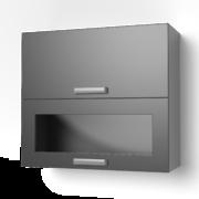 Навесной шкаф 800 горизонтальный комбинированный 8ВК танго