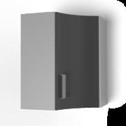 Угловой шкаф под сушку 550х550 угол радиусный УСР танго