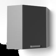 Угловой навесной шкаф 600х600 угол скос УВ2 танго