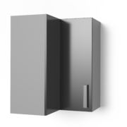 Угловой навесной шкаф 550х550 угол прямой УВП танго